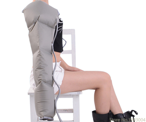 Image 5 - אינפרא אדום טיפול אוויר דחיסת גוף לעיסוי מותן רגל זרוע להירגע מכשיר לקדם זרימת דם כאב הקלה הרזיה דה