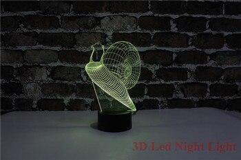 Nuovo Stile Regalo Di Festa 3D Deco Di Illuminazione Con 7 Colori E Mutevole Induzione Creativa Risparmio Kid Camera Deco Luce Di Notte