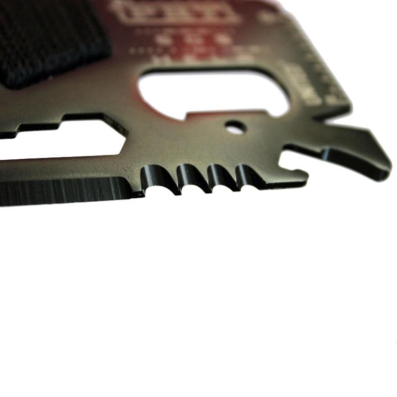 Tarjeta de crédito EDC Cuchillo de caza de bolsillo multifuncional - Herramientas manuales - foto 3