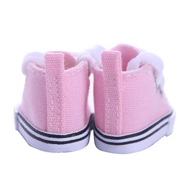 Sapatos de lona para boneca bjd, 5cm, moda, mini sapatos, boneca, sapatos para russo, diy, acessórios de boneca, feitos à mão