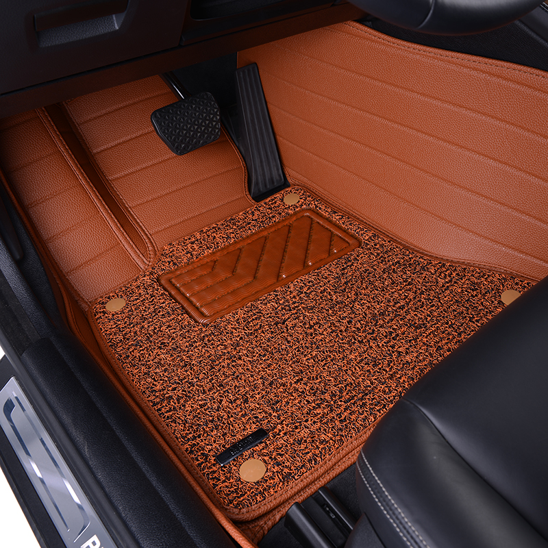 Leather Wire Car Floor Mat For Bmw I Z Z4 Coupe Mini Jcw
