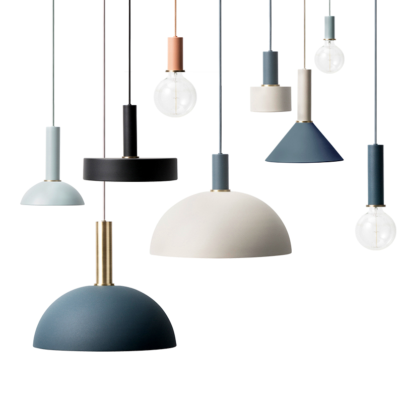 What S Hot On Pinterest Mid Century Table Lamps For Your Loft: Nordic Macarons Restaurant Pendant Lights Dining Room Post
