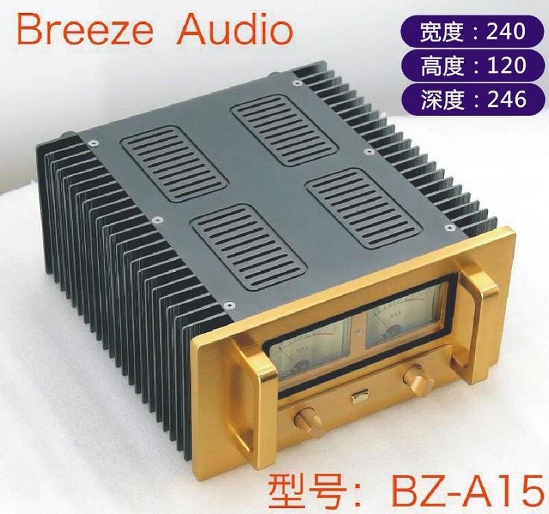BRZHIFI BZ-A15 Double Radiator Aluminum Case For Power Amplifier