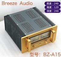 BRZHIFI BZ A15 double radiator aluminum case for power amplifier