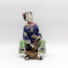 Sculptures Traditional Chinese Dolls Female Statues Collectibles Antique Glazed Figurine Christmas Ceramic Gift laddy Figure Art collectibles glazed ceramic dolls laddy sculptures chinese female statues figurine christmas gifts chinese traditional art