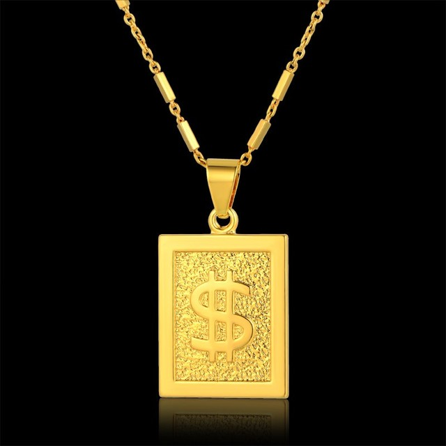 America style gold pendant necklace hip hop chain men women jewelry america style gold pendant necklace hip hop chain men women jewelry gold color fashion colliers jewellery aloadofball Image collections