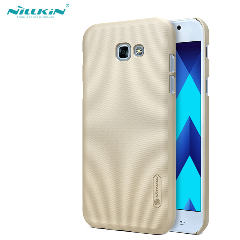 NILLKIN for samsung a5 2017 case 5.2'' Frosted hard Plastic back cover with Screen Protector for samsung galaxy a5 2017 capa