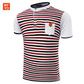 High Quality brand men fashion polo shirt new summer style casual striped cotton men' polo shirt polo ralp men Shirt 3 XL
