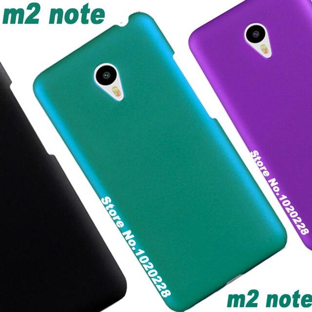 Original m2 note meizu case cover plastic Red/Black/Blue Print pc case for meizu m2note miezu meizu m2 note 16gb case cover