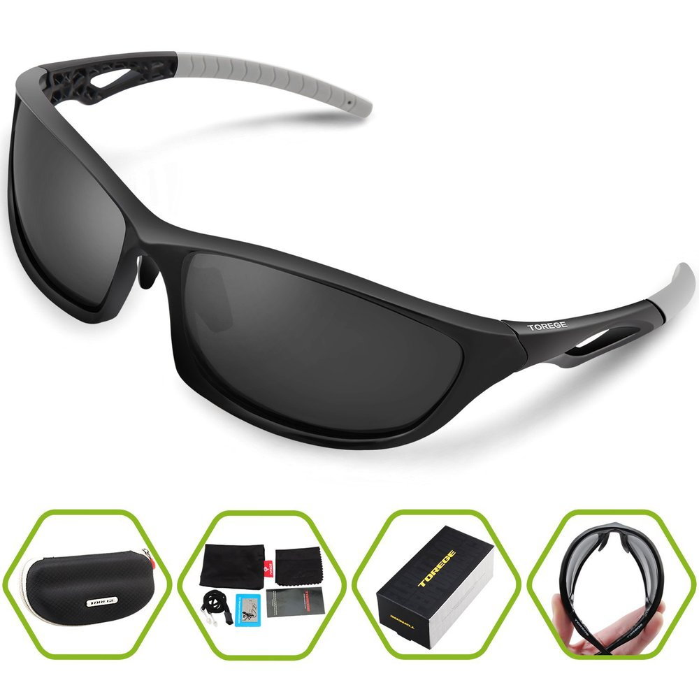 177faceadd 2017 Fashion Unisex Polarized Sunglasses Glasses for Men Women Goggles  Eyewear TR90 Unbreakable Frame -in Sunglasses from Apparel Accessories on  ...