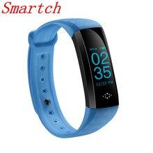 Smartch оригинальный M2S умный браслет Bluetooth трекер сердечного ритма крови Давление монитор PK iwown я