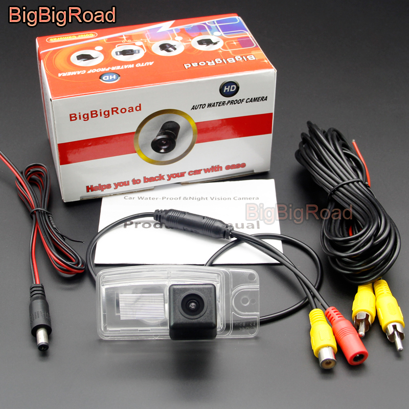 BigBigRoad Car Rear View CCD Parking Camera For Nissan X Trail XTrail T32 Rogue 2013 2014 2015 2016 Murano Z51 Z51R 2008 2016 in Vehicle Camera from Automobiles Motorcycles