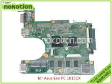 60-OA3RMB4000-C041015CX For ASUS Eee PC 1015CX laptop motherboard rev 1.4G DDR3 N2600 CPU Mainboard full tested