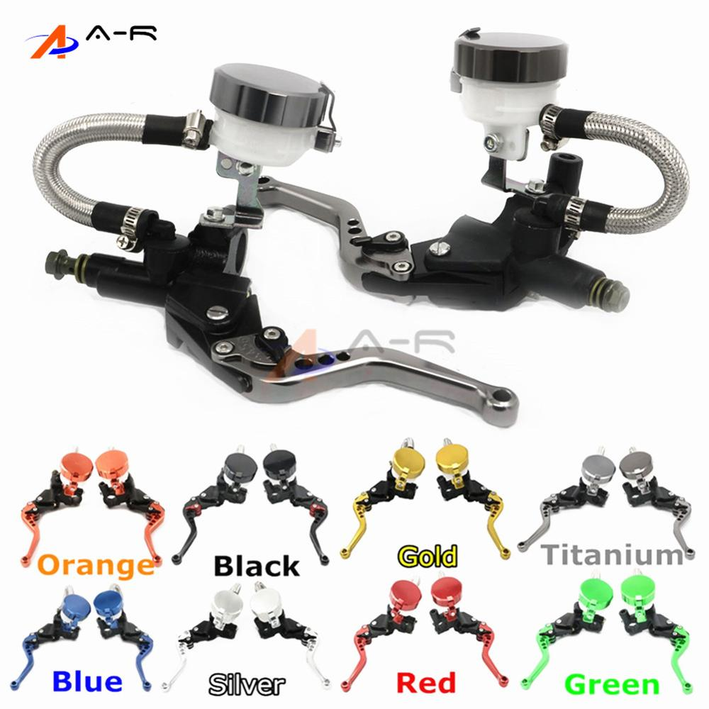 CNC 22MM 7/8'' Clutch Brake Levers Master Cylinder Reservoir for Kawasaki VN1600 Mean Streak 2004-2006 Classic+Tourer 2003-2005 kawasaki vn 1600 mean streak в спб