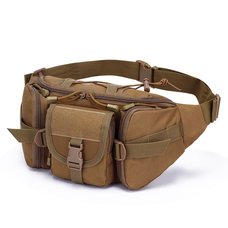MDSTOP Tactical Molle Bag Waterproof Waist Fanny Pack Hiking Fishing Sport Hunting Waist Bags Camping Sport Bag Belt(China)