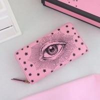 BA0546 Hot Sale Women Wallet Female Purse Leather Women Wallet Card Holder Coin Purse Phone Wallet