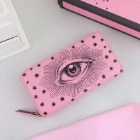 BA0546 Hot Sale Women Wallet Female Purse Leather Women Wallet Card Holder Coin Purse Phone Wallet