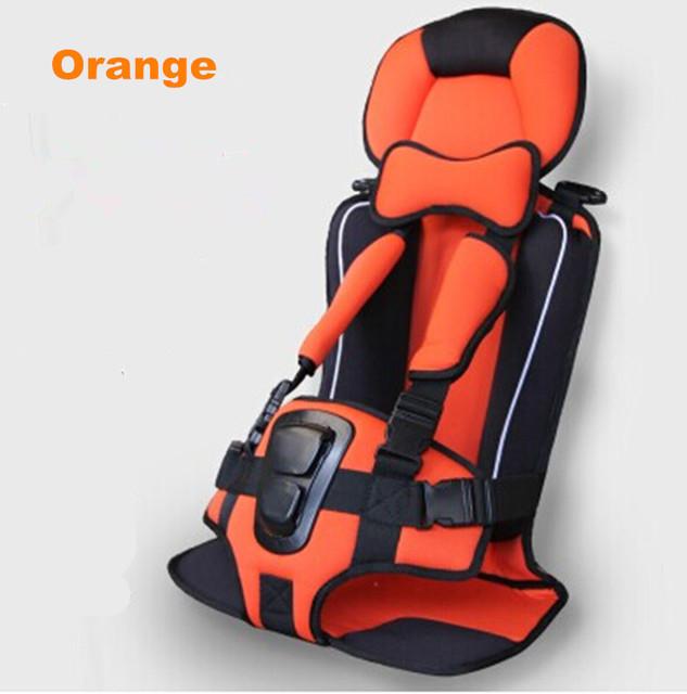 O Envio gratuito de Assento de Carro Do Bebê Portátil/Criança Segura Carro Dos Miúdos assento/Seat Crianças Safety Car 4 Cores Para Crianças 5-15 KG