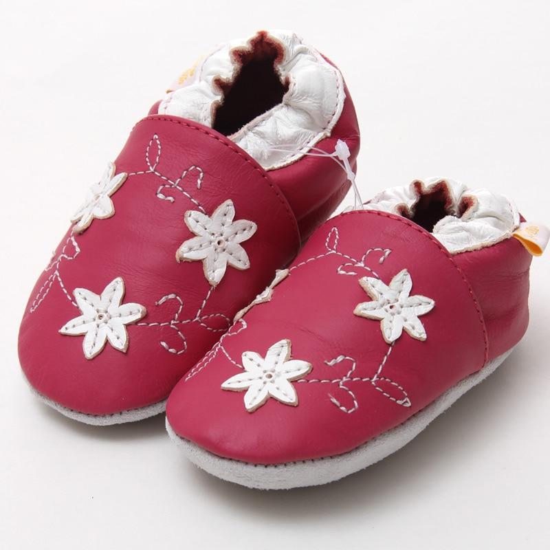 Leder Babyschuhe Kleinkind Kinder Schuhe Mädchen Baby Mädchen Erste - Babyschuhe - Foto 3