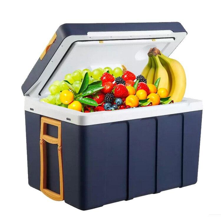 50L Dc 12v Refrigeration  Car Electrical Cooler Family Picninc Portable Mini Fridge Cooler Box Fridge Freezers Car Refrigerator