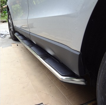 High quality Side step running board OEM type fit for Audi Q5 2009 2010 2011 2012
