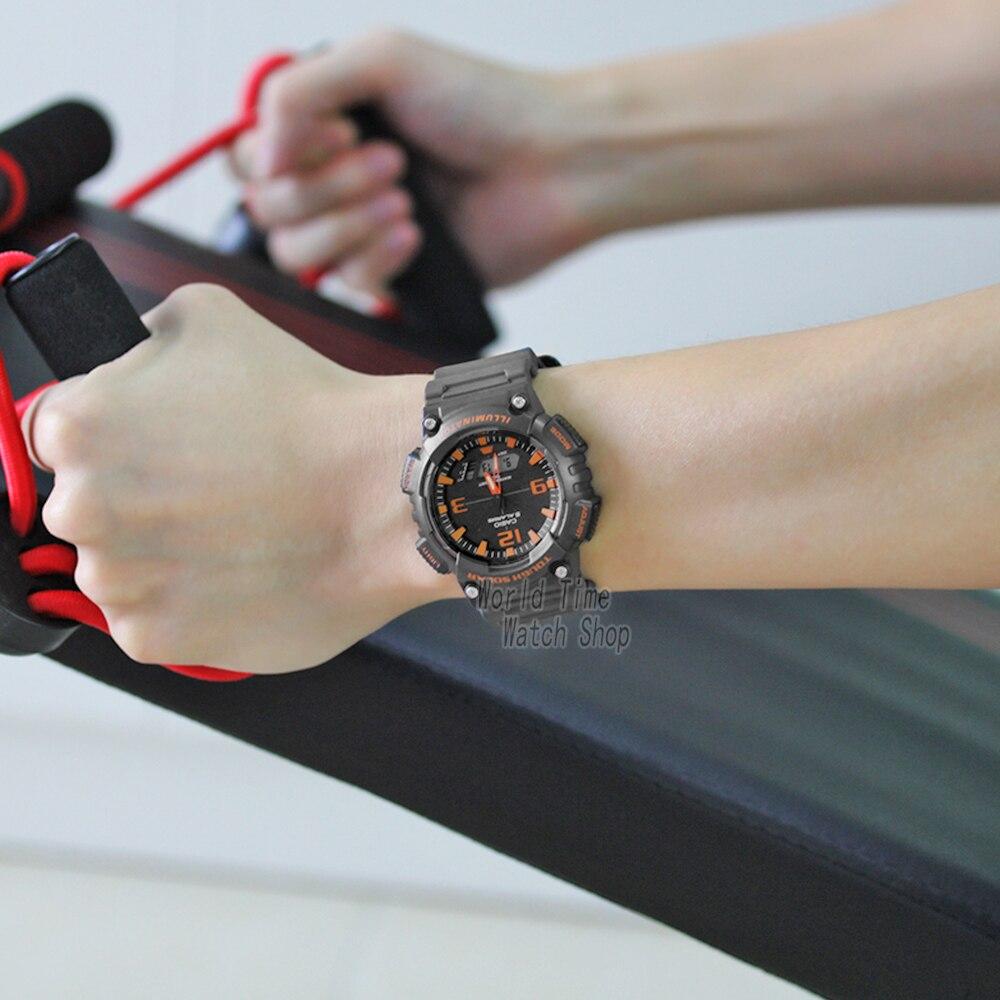 Casio Watch мужчины лучший бренд класса люкс г шок 100м Водонепроницаемые спортивные кварцевые часы LED цифровые военные мужчины часы g shock солнечны... - 4