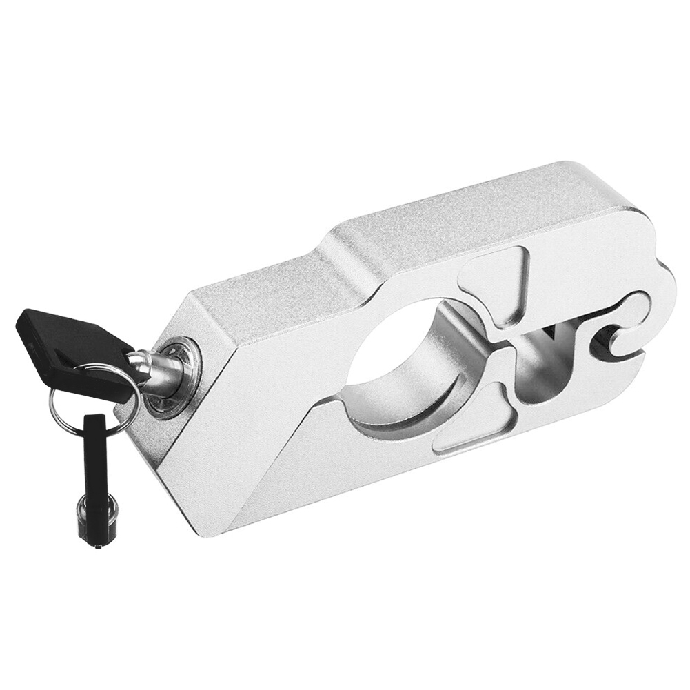 Aluminum Alloy Street Bike Clutch Security Universal Easy Install Motorcycle Brake Lever Lock High Hardness Anti Theft Scooter