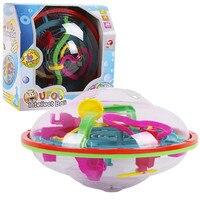 99 Ebene Intellekt 3D UFO Maze Ball Labyrinth Roll Globus Marmor Puzzle Cubes Perplexus Gehirn Tenser Spielzeug für Kinder