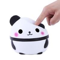 MUQGEW Stress Relief Toy Jumbo Cute Panda Kawaii Cream Scented Squishies Squishy Slow Rising Kids Doll