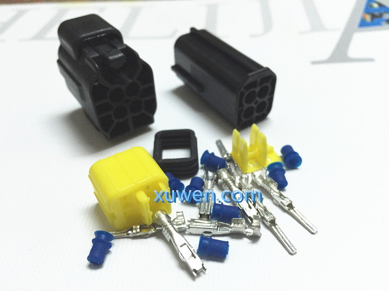 4 way wiring diagram 4 way wiring car 100 set 4 pin way waterproof wire connector plug car auto sealed electrical set car truck denso ...