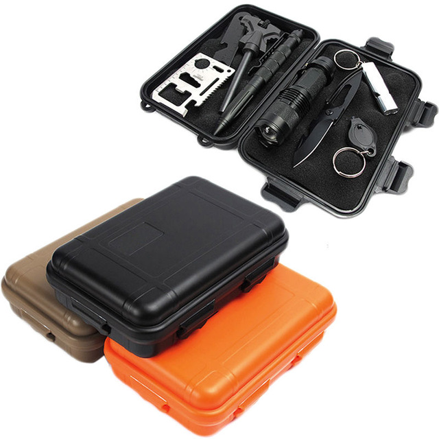Edc Gear Waterproof Box Kayak Storage Outdoor Camp Fish Trunk Airtight Container Carry Travel Seal Case Bushcraft Survive Kit Convenient To Cook Back To Search Resultssports & Entertainment Outdoor Tools