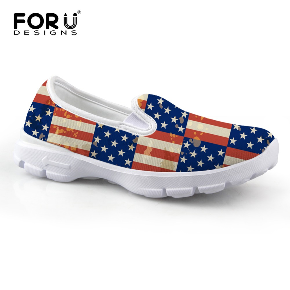 FORUDESIGNS 2017 Fashion Autumn Women's Slip-on Flat Shoes Vintage Union Flag Printed Female Casual Boat Shoes for Woman Loafers m mccain understanding arms control – the options