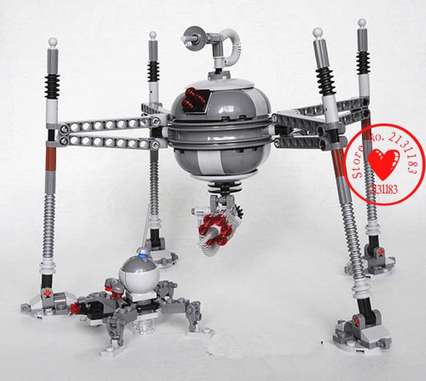 New Star wars 7 Homing Spider Droid Toys fit legoings star wars figures model building blocks bricks boy 75142 gift set