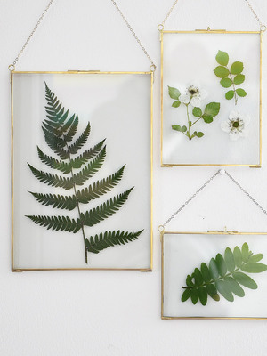 Europe Fashion Wall Hanging Glass Photo Frame Wall Decor Picture