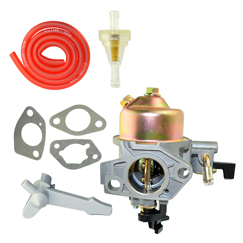 AHL High Performance Motorcycle Carburetor & Fuel filter & Oil Tube For HONDA GX390 13HP