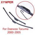 Стеклоочистители XYWPER для Daewoo Tacuma 2000 2001 2002 2003 2004 2005 автомобильные аксессуары мягкие резиновые стеклоочистители