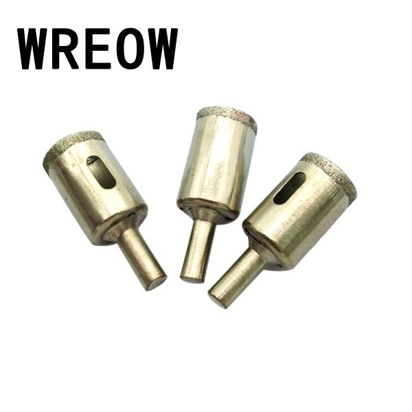 3PCS 20mm Diamond Coated Core Hole Saw Drill Bits Cutter Tool Glass Cutting Drill Hole Saw Ceramic Tiles Marble Drilling tool