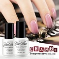 Yaoshun 1pcs Temperature Change Color Nail Gel Polish 8ml UV Soak Off Nail Gel Varnish Hot LED Long Lasting Gel