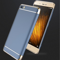 2017 New Luxury Metal Phone Case For Xiaomi 5 Case High Quality Ultra Texture For Xiaomi