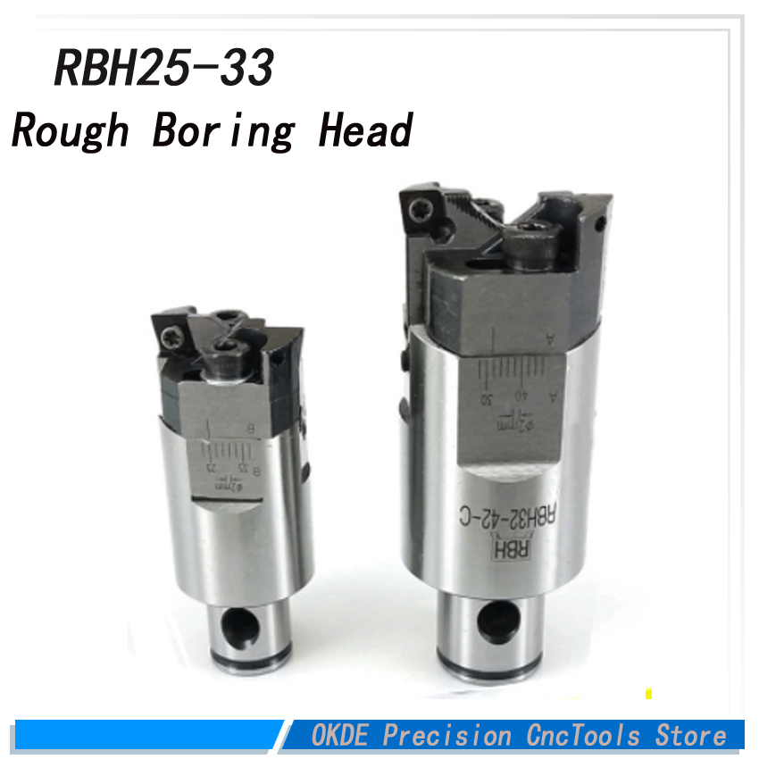 High precision high-accuracy RBH Twin bit RBH 25-33mm Twin-bit Rough Boring Head CCMT060204 used for deep holes boring tool New купить в Москве 2019