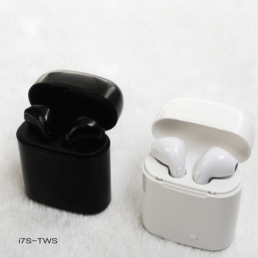 Gu Yue I7 Tws Bluetooth Earphone Headphone Wireless Headset Twins Stereo Sport Earbuds for Apple Ipad IPhone 6 I7 Xiaomi Huawei