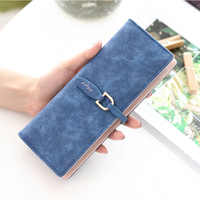 Fashion Brand 55 Card Slots Card Holder Nubuck Leather Bank Credit Pack Big Capacity Money Bag Female ID Card Wallet Women