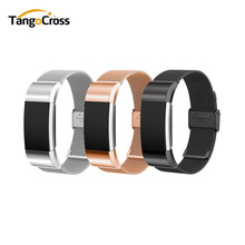 Milanese Loop for Fitbit Charge 2 Band Replacement Watch Bracelet Fitbit Charge 2 Correa Stainless Steel Magnetic Metal Strap