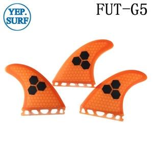 Image 3 - Quilhas do pente de mel do surf, quilhas de fibra azul/laranja/cinza/verde para uso no futuro g5, 2020 paddle placa de surf quilhas