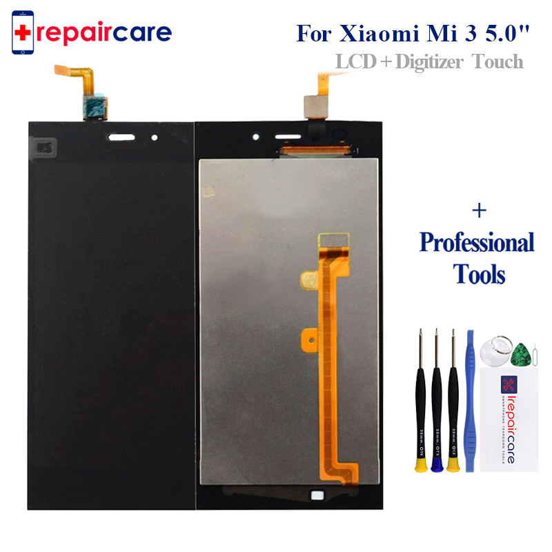 For <font><b>Xiaomi</b></font> <font><b>Mi3</b></font> <font><b>Display</b></font> Tested AAA 5 inch IPS LCD For <font><b>XiaoMi</b></font> Mi 3 <font><b>Mi3</b></font> <font><b>Display</b></font> With Touch Screen Digitizer Assembly image