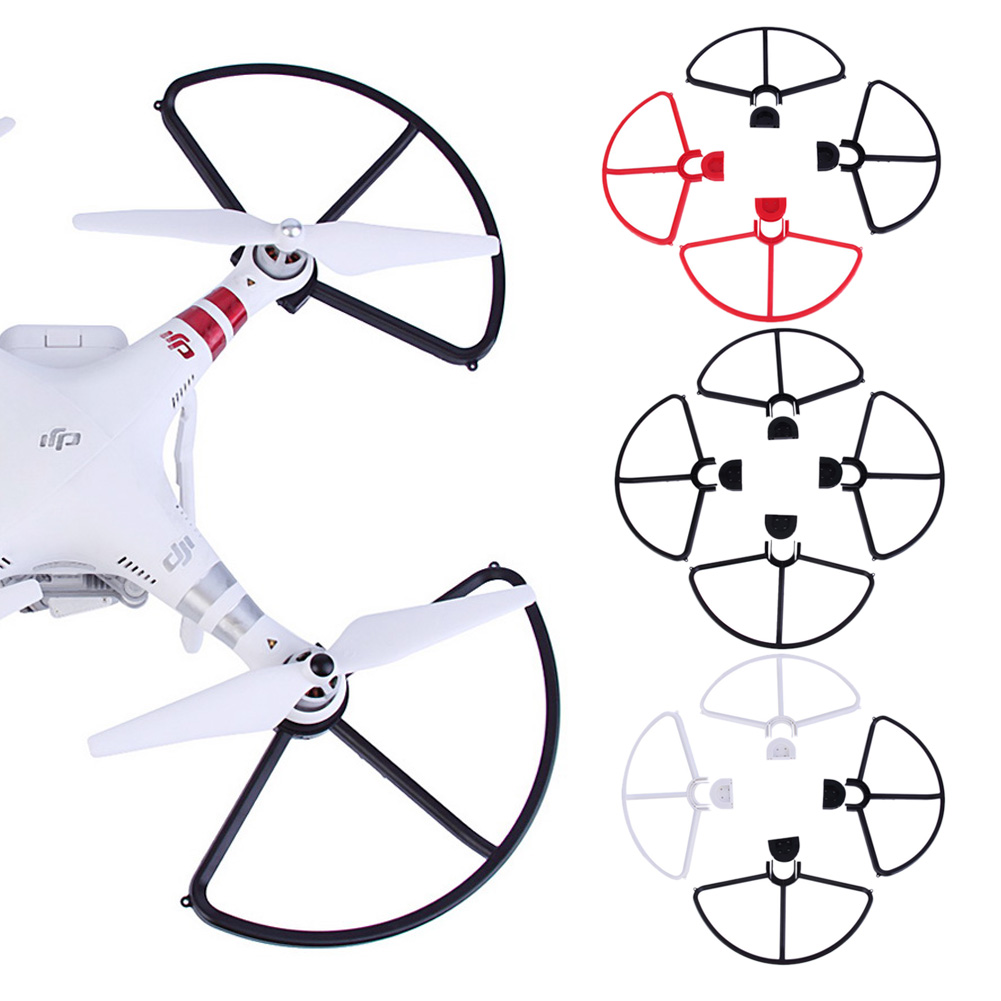 4 Pcs Propeller Protectors ABS Plastic On/off Prop Guards for DJI Phantom All Versions Phantom 1&2&3 Tool