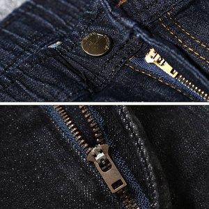 Image 5 - Pantalon extensible noir pour hommes, grandes tailles, 9XL, 10XL, 11XL, 12XL, pantalon élastique, droit, 50 54 56 58
