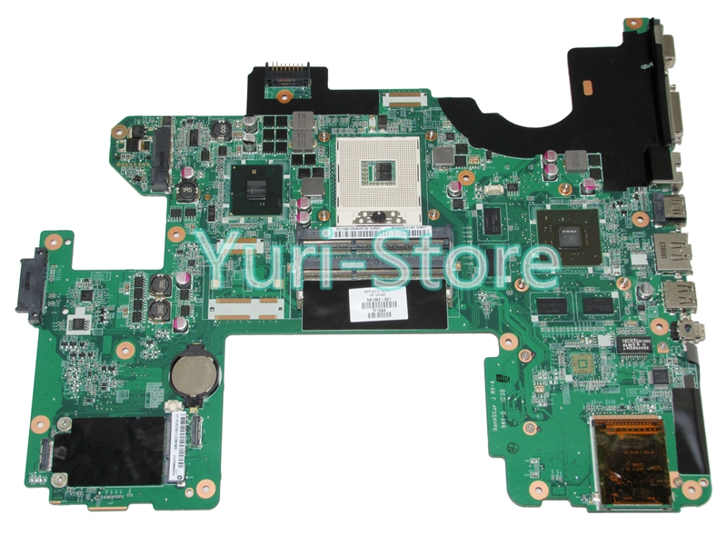 NOKOTION for HP DV8 Laptop mainboard 591382-001 series DDR3 With NVDIA Video Card ddr3 Mainboard full tested