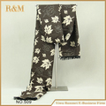 Мода бесконечность шарфы весна зима теплая лист печать шарфы для мужчин бесплатная доставка