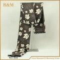 Infinito moda bufandas del resorte caliente del invierno de la hoja de impresión bufandas para hombre envío gratis